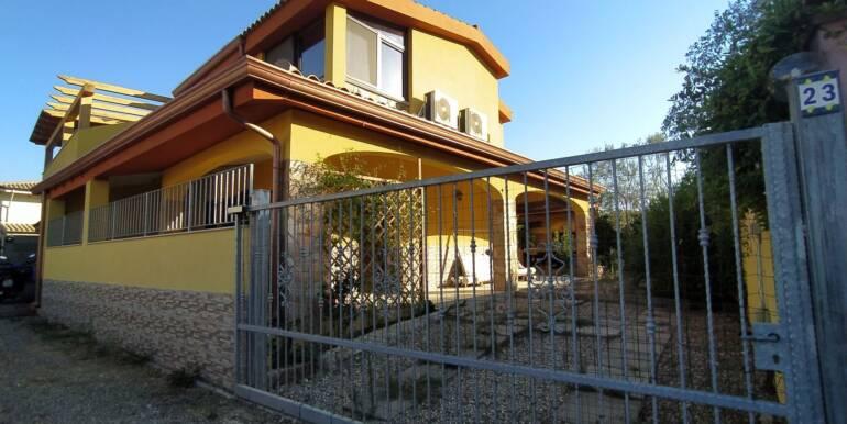 Rif 66 Villetta indipendente con pannelli solari