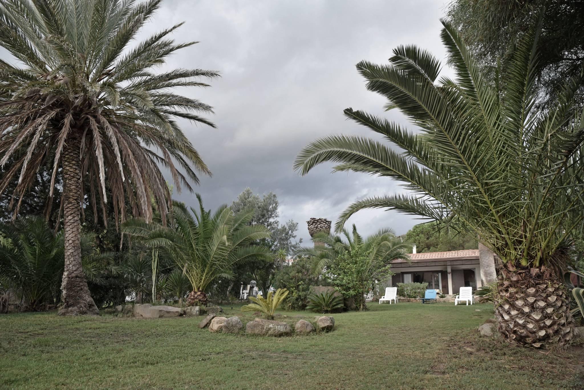 Villa con ampio giardino a due passi dal mare